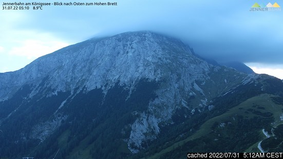 Live webcam per Berchtesgaden se disponibile
