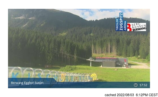 Live Snow webcam for Berwang-Bichlbach-Rinnen