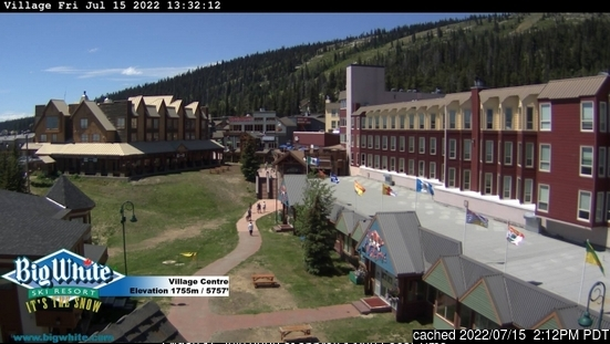 Webcam de Big White a las 2 de la tarde hoy