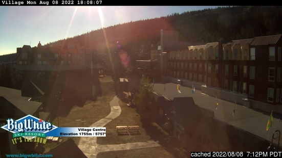 Live webcam per Big White se disponibile
