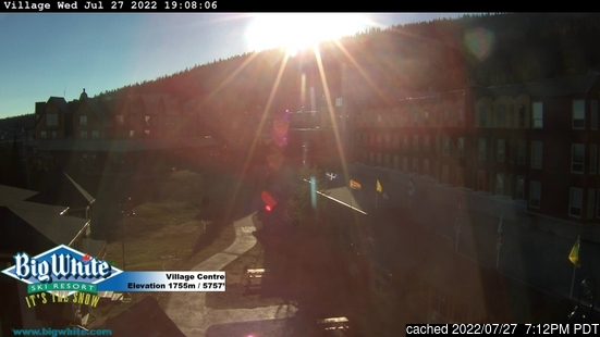 Live Sneeuw Webcam voor Big White