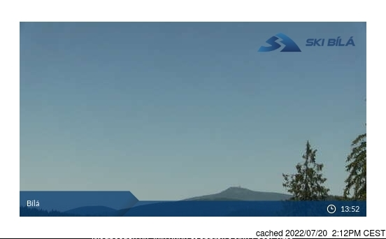 Webcam de Bílá a las doce hoy