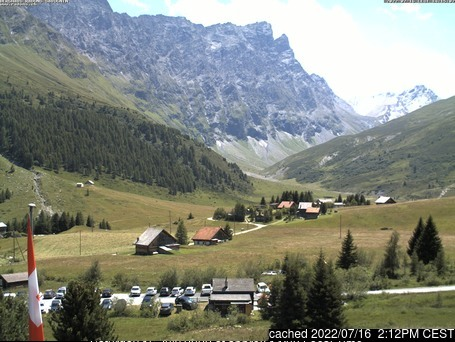 Bivio webcam at 2pm yesterday