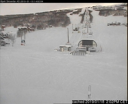 Bjorli webcam at lunchtime today