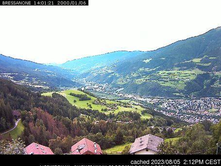 Plose Brixen webcam heute beim Mittagessen