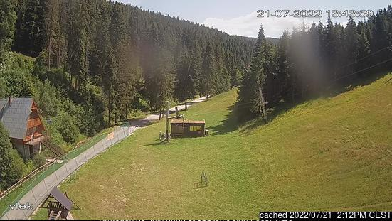 Ski Centrum Brezovica (Slovakia) webcam om 2uur s'middags vandaag