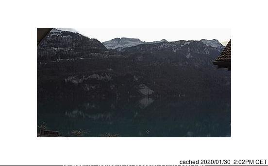 Bugün akşam yemeğinde Brienz - Axalp'deki webcam