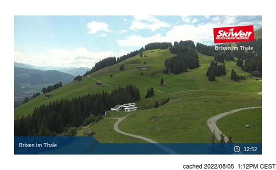 Live Snow webcam for Brixen im Thale