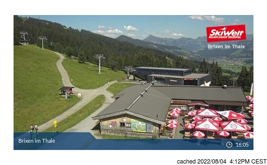 Live webcam per Brixen im Thale se disponibile