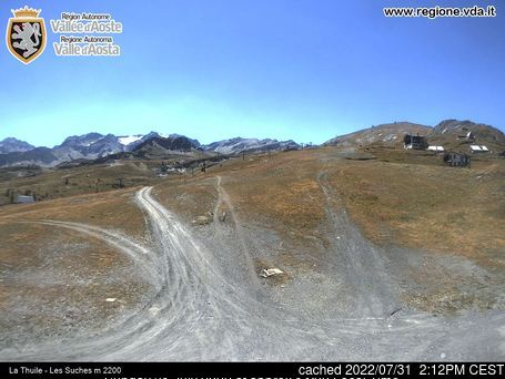 Webcam de Brusson a las 2 de la tarde ayer