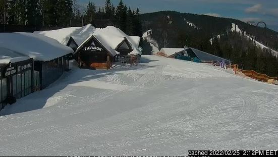 Bukovel webcam alle 2 di ieri sera