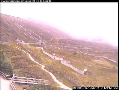 Cairngorm webcam at lunchtime today