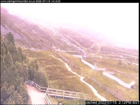 Cairngorm webcam at 2pm yesterday