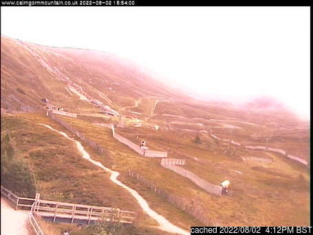 Live Snow webcam for Cairngorm