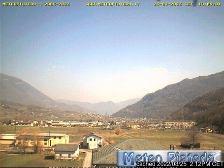 Caspoggio webcam at lunchtime today