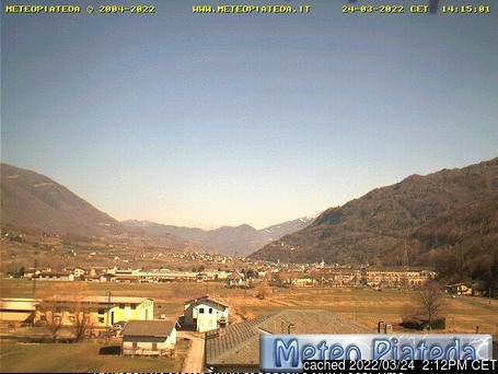 Caspoggio webcam at 2pm yesterday