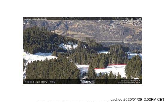 Κάμερα σε Alpe Cermis-Cavalese στις 2μμ χθές