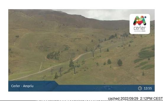 Webcam de Cerler à midi aujourd'hui