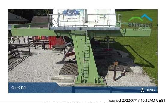 Webcam de Černý Důl a las doce hoy