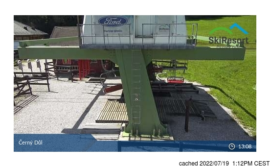 Live webcam per Černý Důl se disponibile
