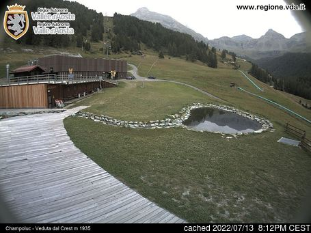 Live webcam per Champoluc se disponibile