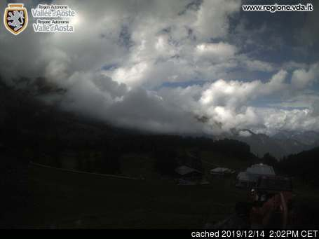 Champorcher webcam alle 2 di ieri sera