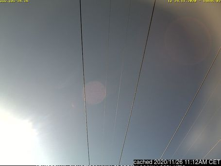 Champoussin webcam at 2pm yesterday