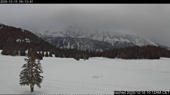 Chamrousse webcam at lunchtime today