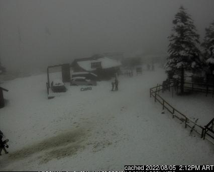 Chapelco webcam at 2pm yesterday