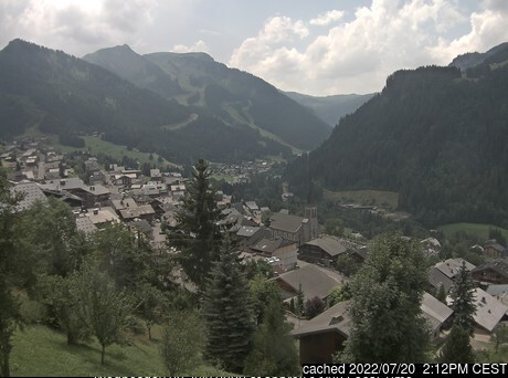 Webcam de Chatel à 14h hier