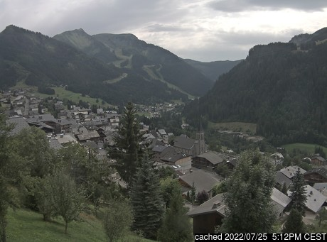 Live Snow webcam for Chatel