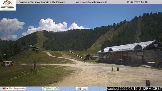 Chiesa webcam at 2pm yesterday