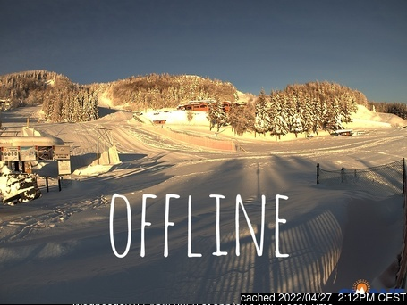 Cimone webcam at 2pm yesterday