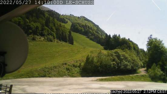 Col d' Ornon webcam at lunchtime today