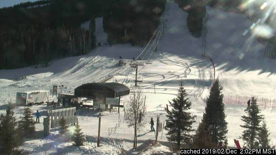 Copper Mountain webcam at 2pm yesterday
