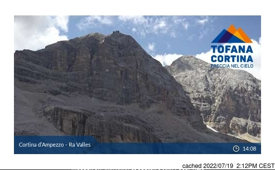 Webcam de Cortina à 14h hier
