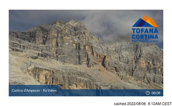 Live webcam per Cortina se disponibile