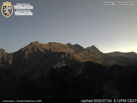 Webcam en vivo para Courmayeur