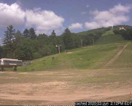 dün saat 14:00'te Cranmore Mountain Resort'deki webcam
