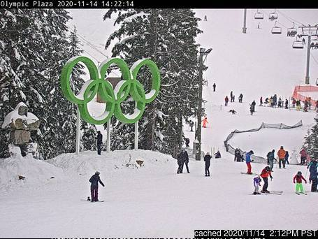 Cypress Mountain Webcam gestern um 14.00Uhr