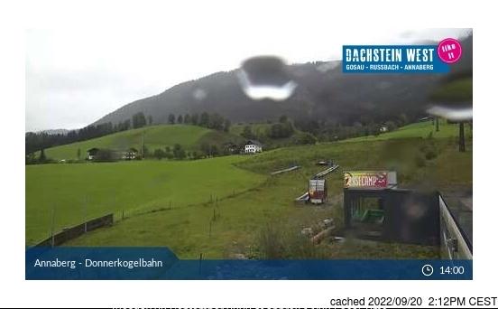 Dachstein Glacier webcam às 14h de ontem