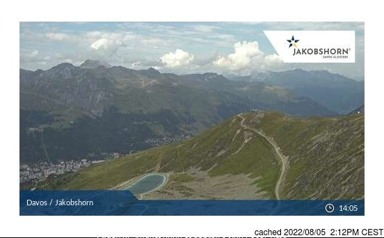 Davos webcam at 2pm yesterday
