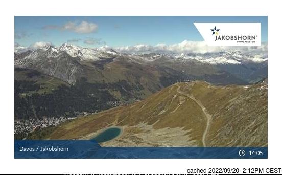 Davos webcam om 2uur s'middags vandaag