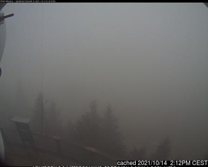 Dolní Morava webcam at 2pm yesterday