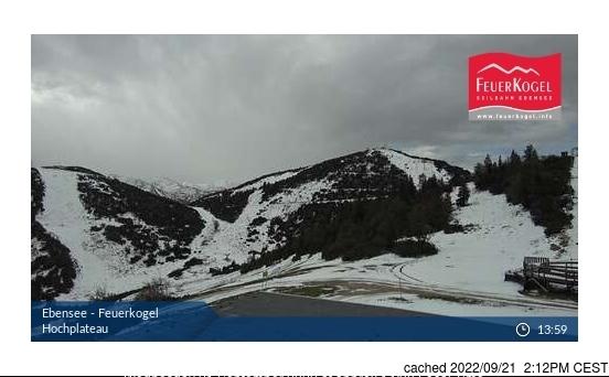 Webcam de Ebensee am Traunsee à midi aujourd'hui