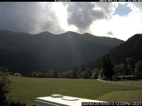 Eigenthal webcam at lunchtime today