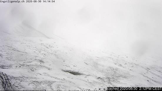 Engstligenalp webcam at 2pm yesterday
