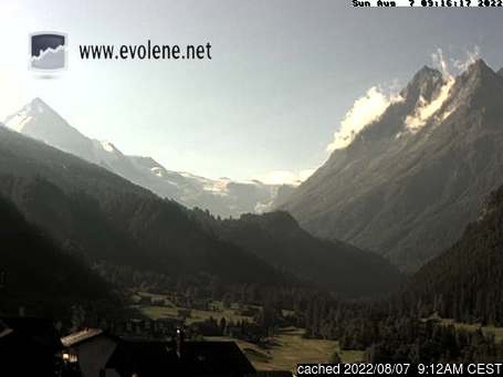 Live Webcam für Evolène