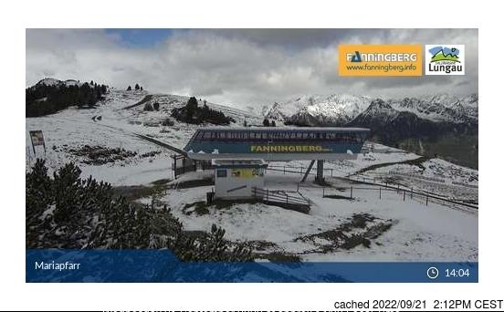 Fanningberg webbkamera vid kl 14.00 igår