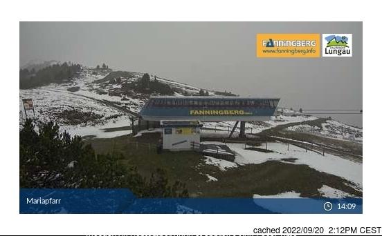 Fanningberg webcam at 2pm yesterday